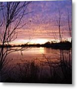 Ottawa River Sunrise Metal Print