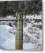 Otter Brook Dam Metal Print