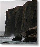 Otter Cliff Metal Print