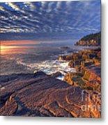 Otter Cove Sunrise Metal Print