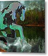 Otter Lake Phantom Metal Print