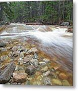 Otter Rocks - White Mountains New Hampshire Usa Metal Print