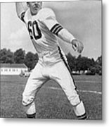 Otto Graham Nfl Legend Poster Metal Print by Gianfranco Weiss