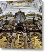 Ottobeuren Abbey Organ Metal Print