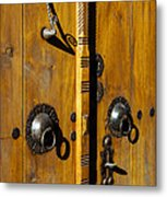 Ottoman Door Knockers Metal Print
