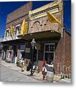 Otts Assay Office And The South Yuba Canal Building Nevada City California Metal Print