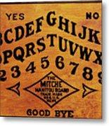 Ouija Board 1 Metal Print