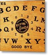 Ouija Board 3 Metal Print