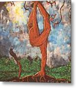 Our Dance With Nature Metal Print