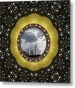 Our Earth Our Mother Pop Art Metal Print