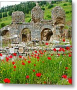 Our Entry Into Ephesus And Its Baths-turkey Metal Print