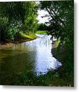 Our Fishing Hole Metal Print
