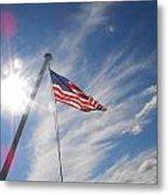Our Flag Metal Print