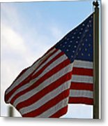 Our Flag Was Still There Metal Print