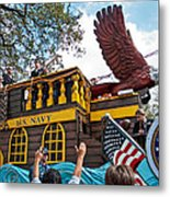 Our Float Floats Metal Print