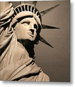 Our Lady Liberty Metal Print