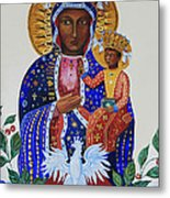 Our Lady Of Czestochowa Metal Print