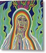 Our Lady Of Fatima 2012 - Detail A Metal Print