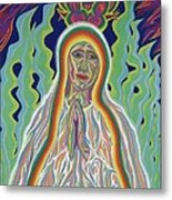 Our Lady Of Fatima 2012 Metal Print