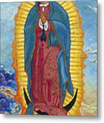 Our Lady Of Guadalupe-new Dawn Metal Print by Mark Robbins