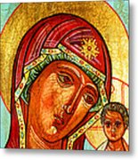 Our Lady Of Kazan Metal Print