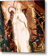 Our Lady Of Lourdes Metal Print