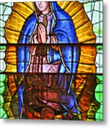 Our Lady Of Peace Metal Print by Christine Till
