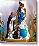 Our Lady Of Peace Metal Print by Karon Melillo DeVega