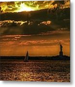 Our Lady Of The Harbor Metal Print