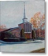 Our Lady Of The Lakeschurch Oakdale Ct Metal Print
