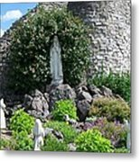 Our Lady Of The Woods Shrine Lll Metal Print