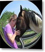 Our Love Metal Print by Rosalie Klidies