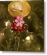 Our Miss Froggy Metal Print
