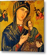 Our Mother Of Perpetual Help Rome Metal Print