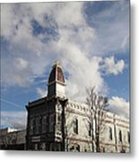 Our Town - Grants Pass In Old Town Metal Print