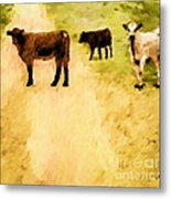 Our Way Or The Highway P Metal Print