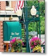 Ouray Street Lamp Metal Print by Trisha Buchanan