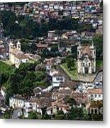 Ouro Preto Brazil 1 Metal Print