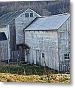 Out Behind The Barn Metal Print