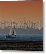 Out For A Sail 2 Metal Print