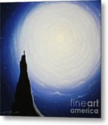 Somewhere Out In Space Metal Print by Chris Mackie