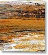 Out In The Fields Metal Print