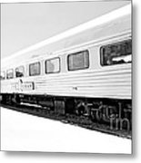 Out In The Open Bw Metal Print
