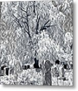 Out-lived Death Metal Print