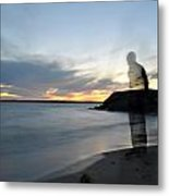 Out Of Body...out Of Mind...yet In Peace Metal Print