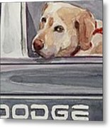 Out Of Dodge Metal Print by Molly Poole