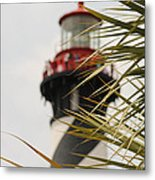 Out Of Focus Lighthouse Metal Print