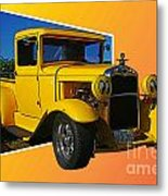Out Of Picture Ford Metal Print