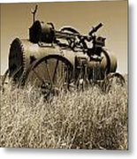 Out Of Steam Metal Print by Gordon  Grimwade