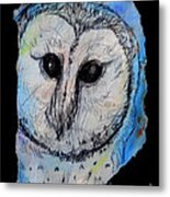 Out Of The Dark Metal Print by M C Sturman